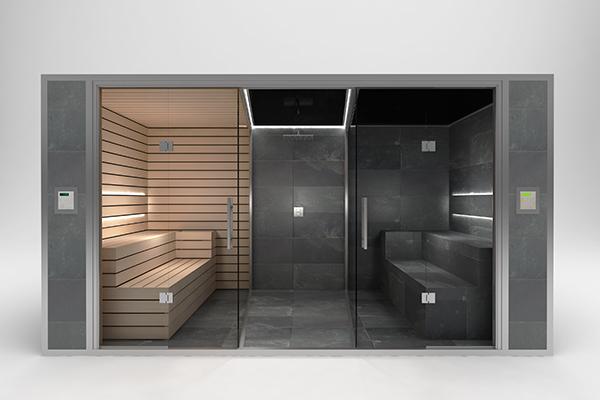 Hammams carrel s ouest spas la rochelle nantes bordeaux - Combine sauna hammam ...